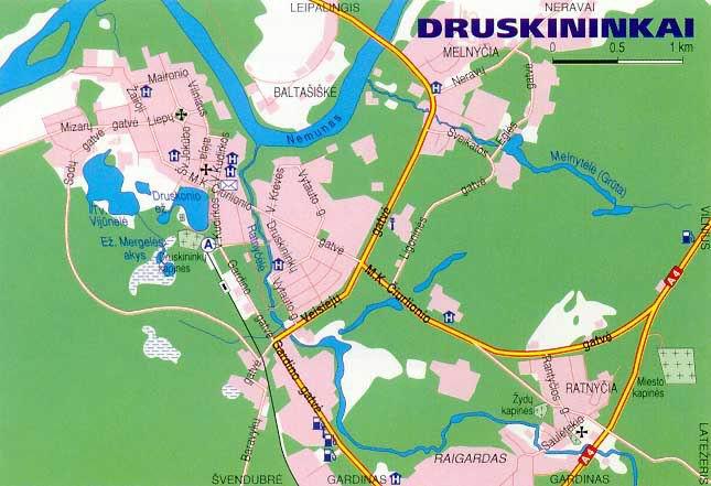 Лечебница Друскининкай лечебные программы г. Друскининкай
